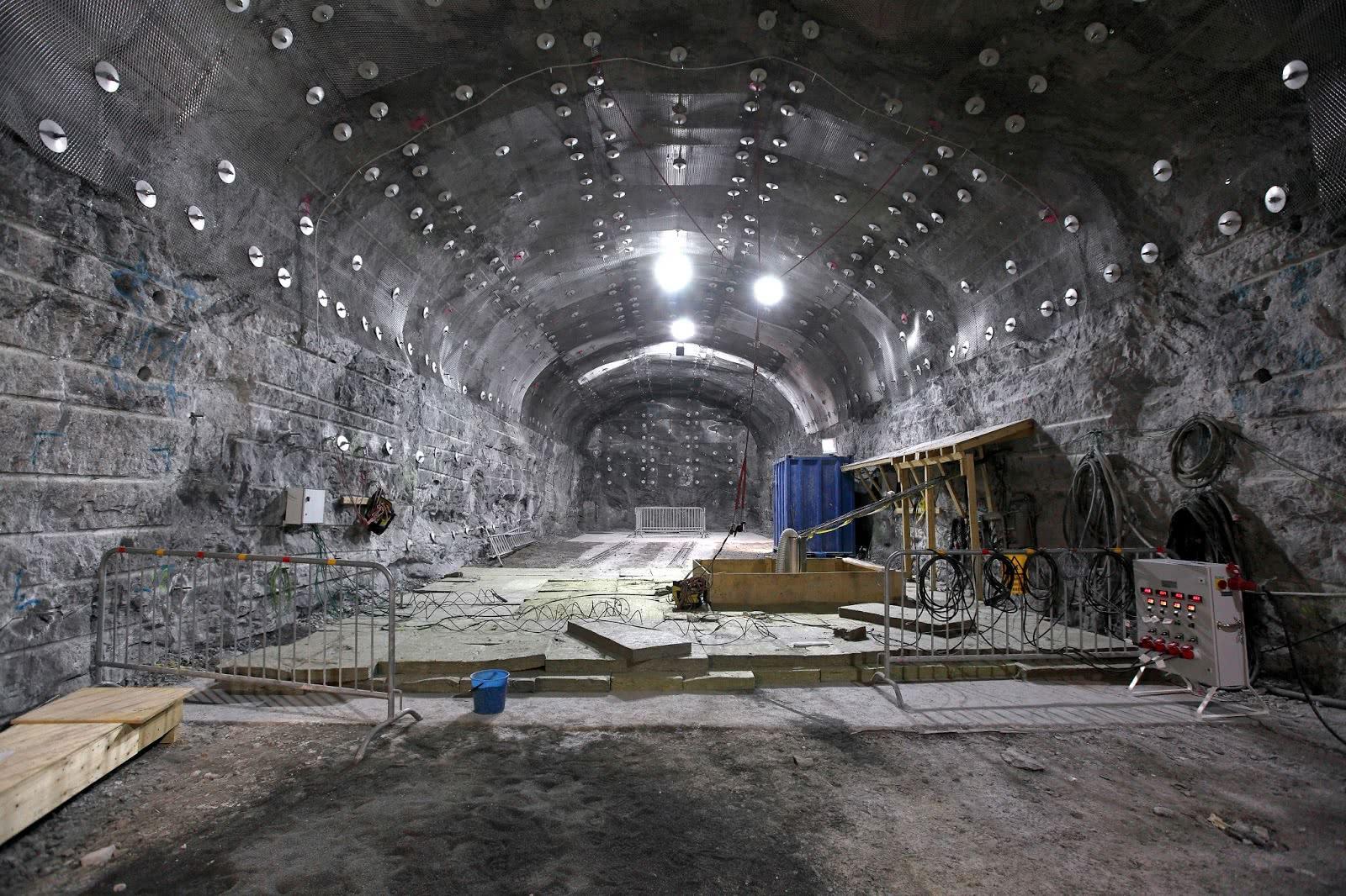 中国超级地下城市:总面积达10.4万平方米,可防御100吨氢弹!