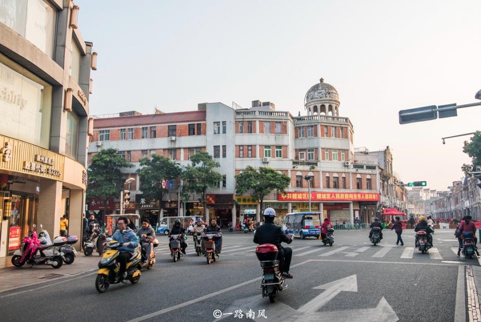 """泉州中山街图片_到福建旅游,泉州不可错过,这里有条""""异国风情""""的骑楼街 ..."""