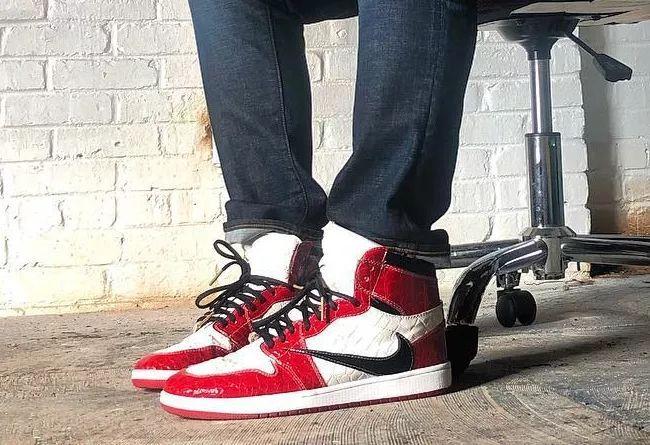 反钩的芝加哥配色 Air Jordan 1!