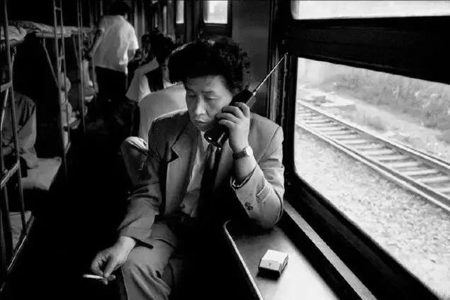 1994年,沈阳——大连.九十年代的大哥大.图片