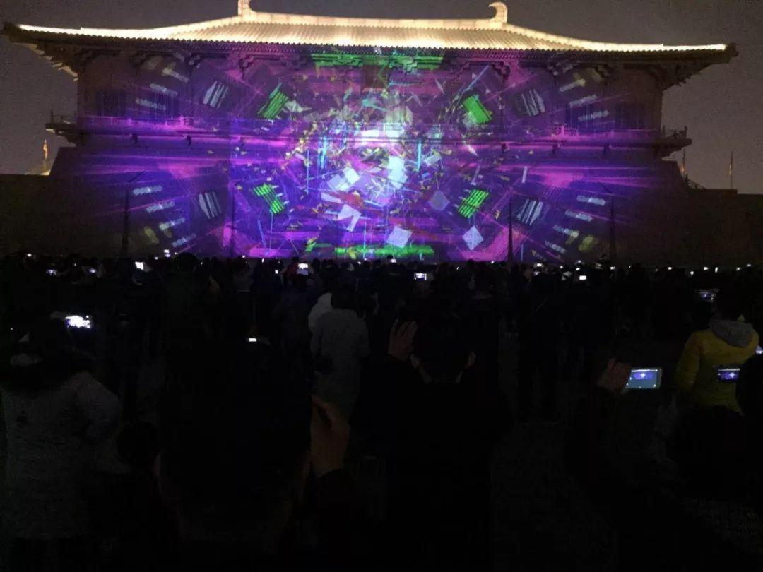 西安年·最中國 | 新年新氣象,大明宮·光影嘉年華節目上新,引萬人圖片