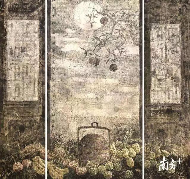 """又开始重新聚焦家乡的变化.""""陈俊说,潮州画院开始有计划地组织画"""