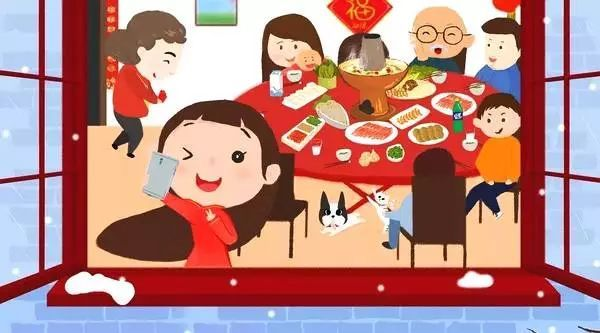 """今年过年的年夜饭,寻常百姓家里的一场""""年终盛典""""图片"""