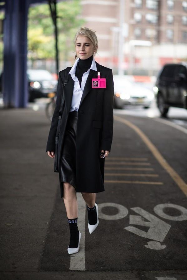 一件大衣搞定冬日出街最IN穿搭,時尚、大氣、又保暖! 形象穿搭 第10張