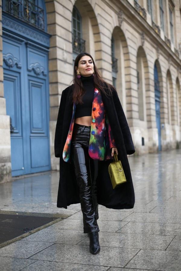 一件大衣搞定冬日出街最IN穿搭,時尚、大氣、又保暖! 形象穿搭 第2張