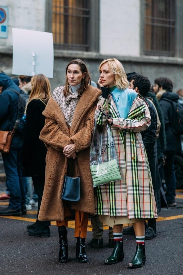 一件大衣搞定冬日出街最IN穿搭,時尚、大氣、又保暖! 形象穿搭 第1張