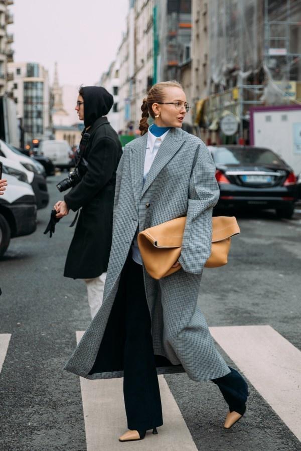 一件大衣搞定冬日出街最IN穿搭,時尚、大氣、又保暖! 形象穿搭 第9張