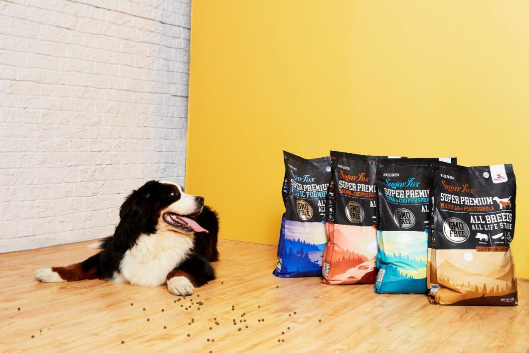 糖狐美国进口狗粮 打造高标准狗粮产品
