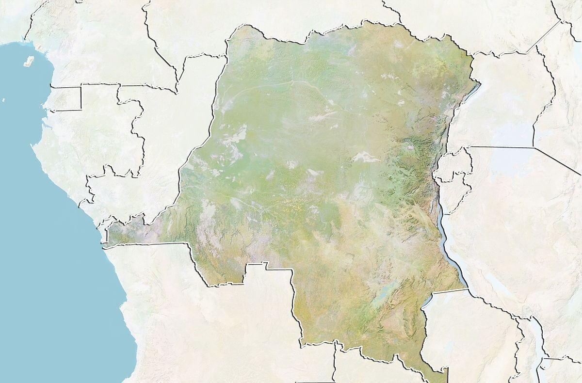 刚果金 人口_刚果金地图