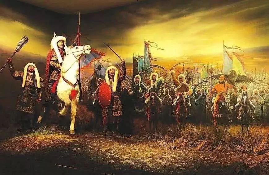 """历史上的故事——1616年2月17日,努尔哈赤即汗位,建立""""大金国""""_李成梁"""