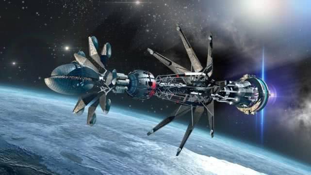 如果飞船以光速飞行并向地球发射一束光,地球上能看到吗?