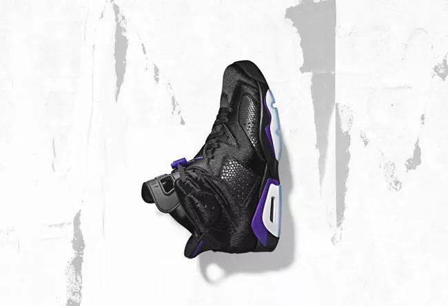 """黑豹Social Status x Air Jordan 6 """"Black Cat""""  货号:AR2257-005"""