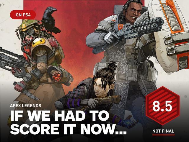 《Apex英雄》IGN暂时8.5分 虽不是原创但效果很好