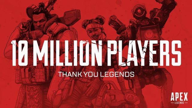 《Apex英雄》突然火了!发售三天玩家超过1000万