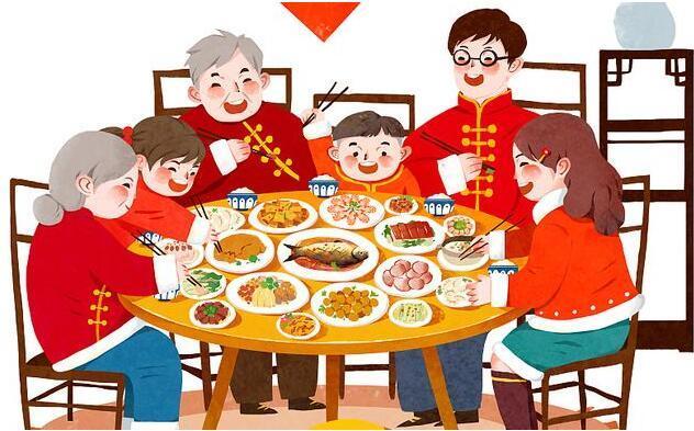 吃喝过年悄然改变家国幸福美丽变迁
