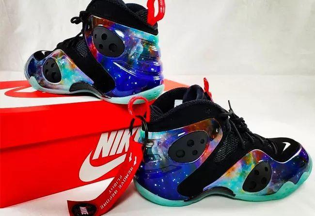"""酷炫的夜光外底!银河Nike Zoom Rookie """"Galaxy""""  货号:CI2120-001"""