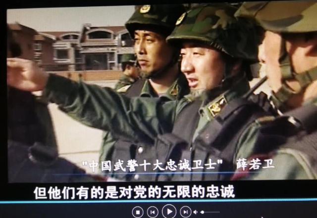 薛若卫:脱下军装还是兵