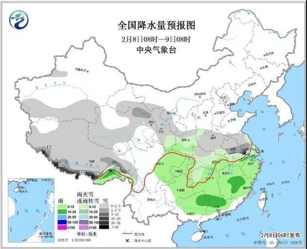 对两广地区的人来说,好消息是,到2月10日,即正月初六,一场雨水有望给当地降降温。