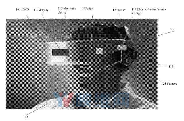英特尔新VR头显专利可提供酸甜苦辣等化学感觉响应
