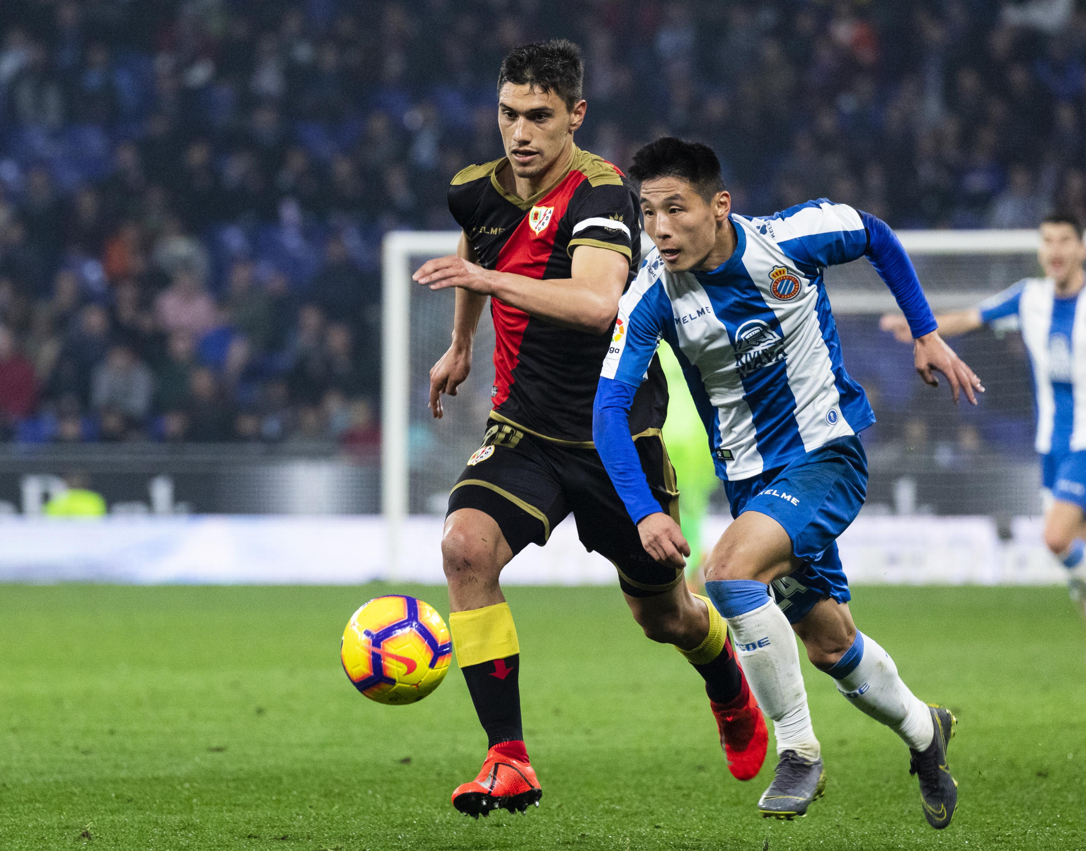 足球——西甲:西班牙人勝巴列卡諾_西班牙人隊