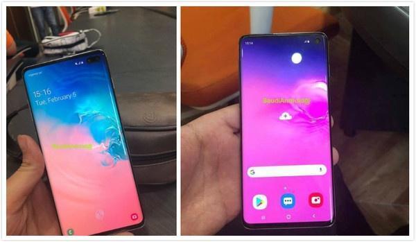 三星Galaxy S10真機上手圖曝光,這顏值你絕對不會失望_手機