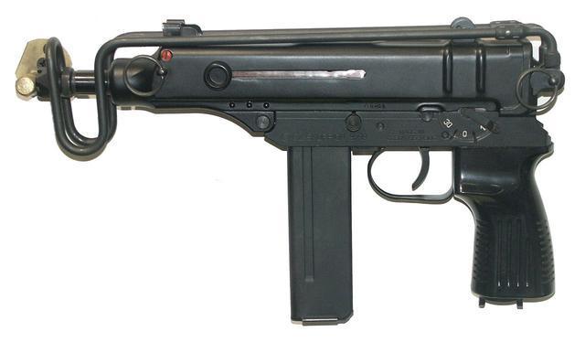 全球最危險的三把沖鋒槍:第二把彈匣設計輕巧,輕松打翻穿防彈衣_子彈