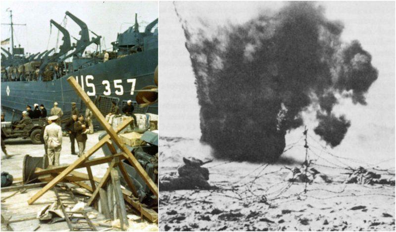 諾曼底登陸前,盟軍演習大烏龍:自己炸死自己749人_海灘