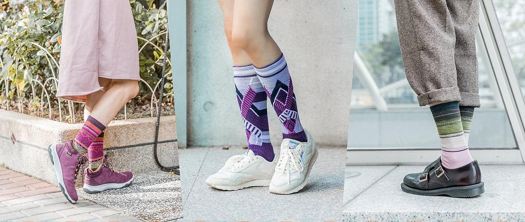 都市戶外風混搭,Smartwool羊毛襪一周繽紛穿搭_襪子