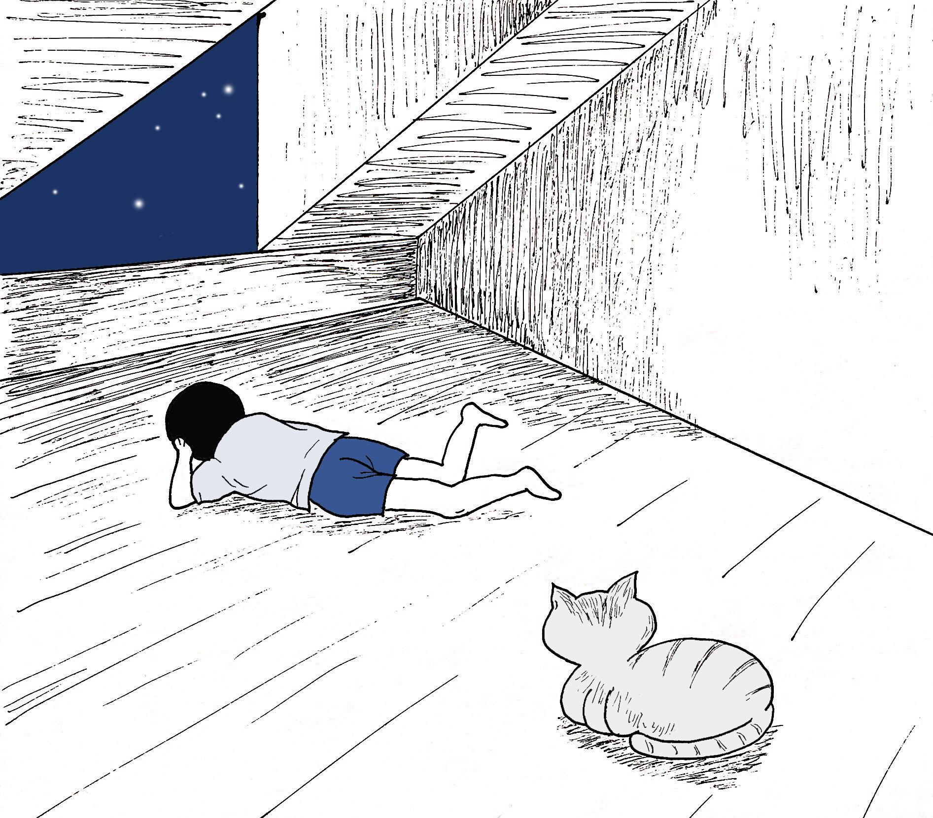 七十二家房客⑦|閣樓里的寵物:蛇貓覓覓_小時候