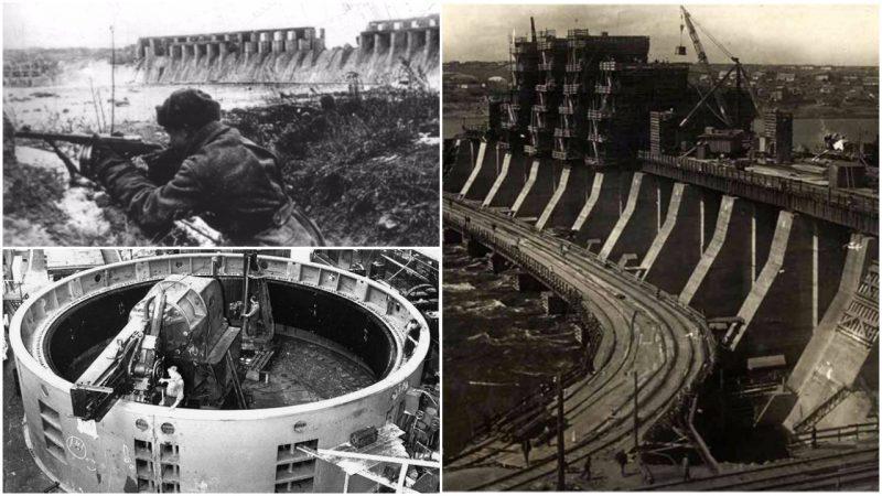 面對德軍鋼鐵洪流,斯大林炸毀蘇聯最大水壩,水阻德軍!_大壩