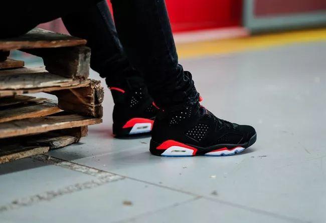 黑红 Air Jordan 6 上脚美图