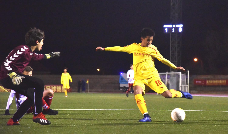 恒大U15四戰全勝僅丟一球 馬德里足球冠軍賽成中國足球小將大舞臺_比賽