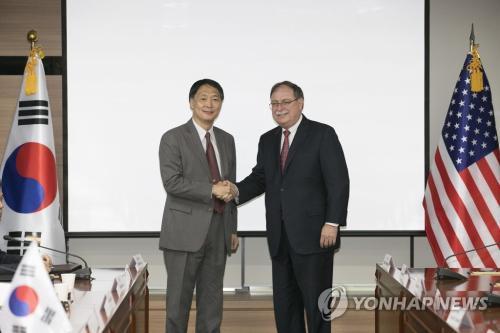 韓美草簽軍費協定 韓方承擔額較2018年上漲8.2%_防衛