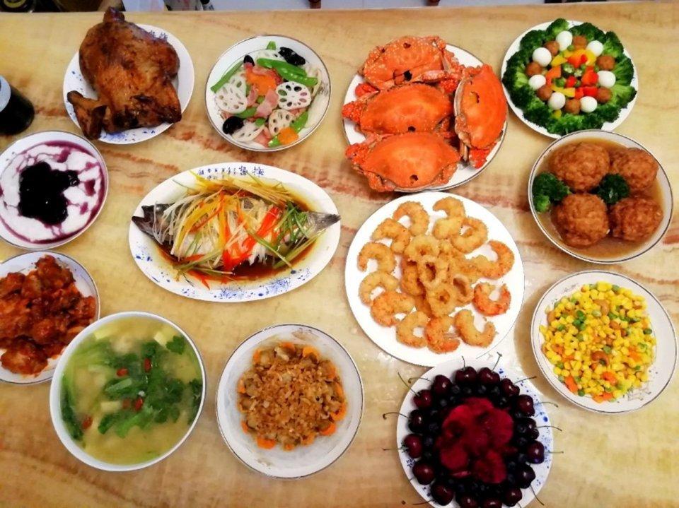 全國年夜飯大集合,桌桌精致各有所長,喜歡北方的還是南方的?_年夜菜