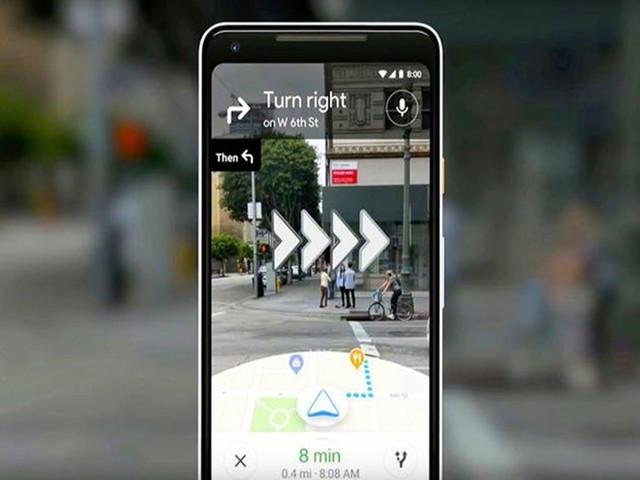 AR实景导航来了 谷歌向少量用户开放此服务