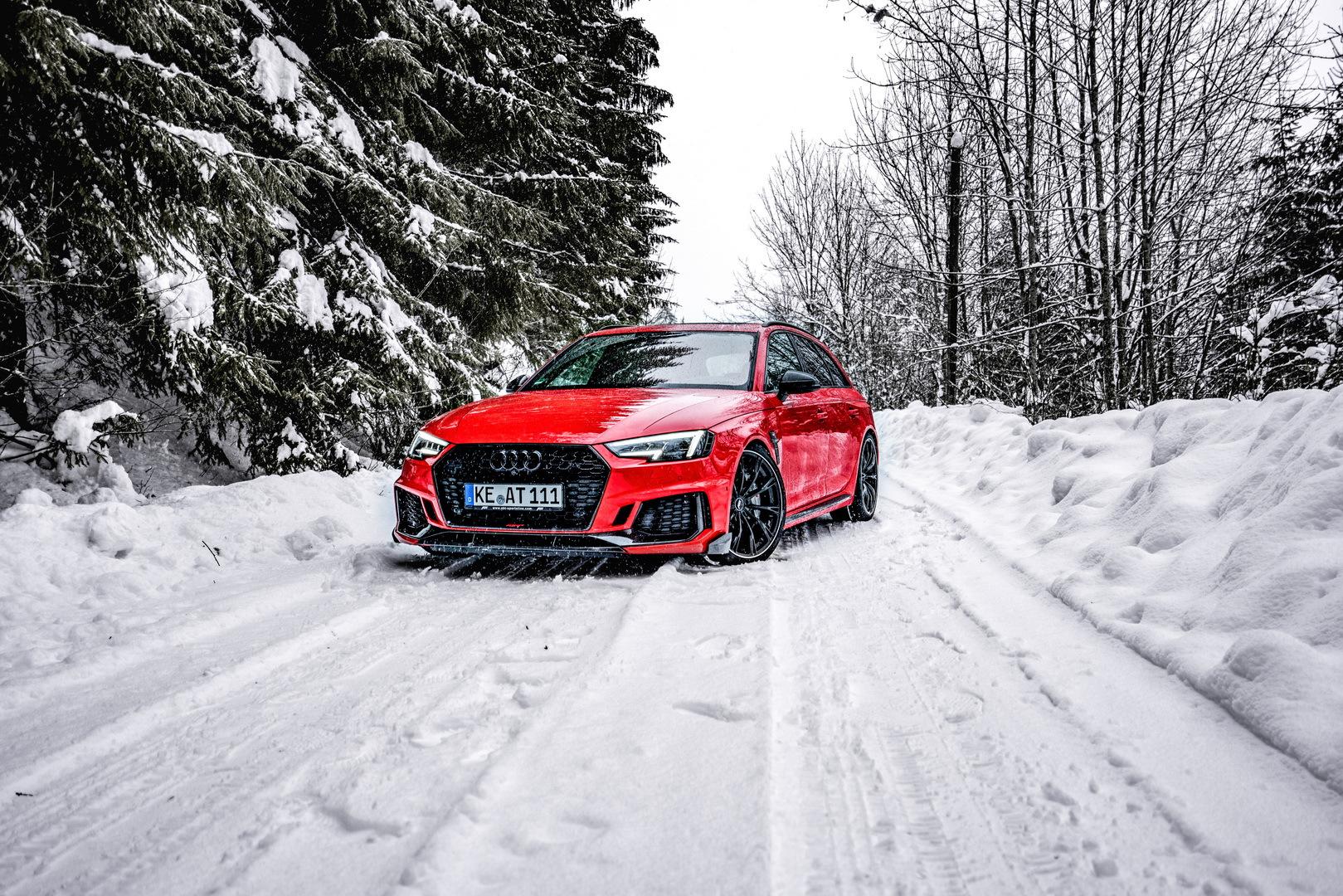 ABT调教奥迪RS4 Sportline提供动力和外观升级套