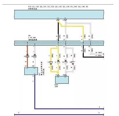 汽车 正文  图2 数据流 于是分析电路图(如图3所示),收音机主要是和
