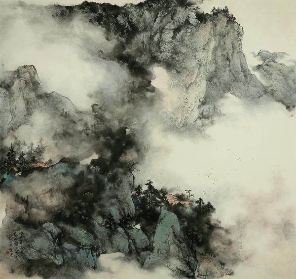 金树�スぷ魇抑泄�画(山水)高研班2019年招生简章