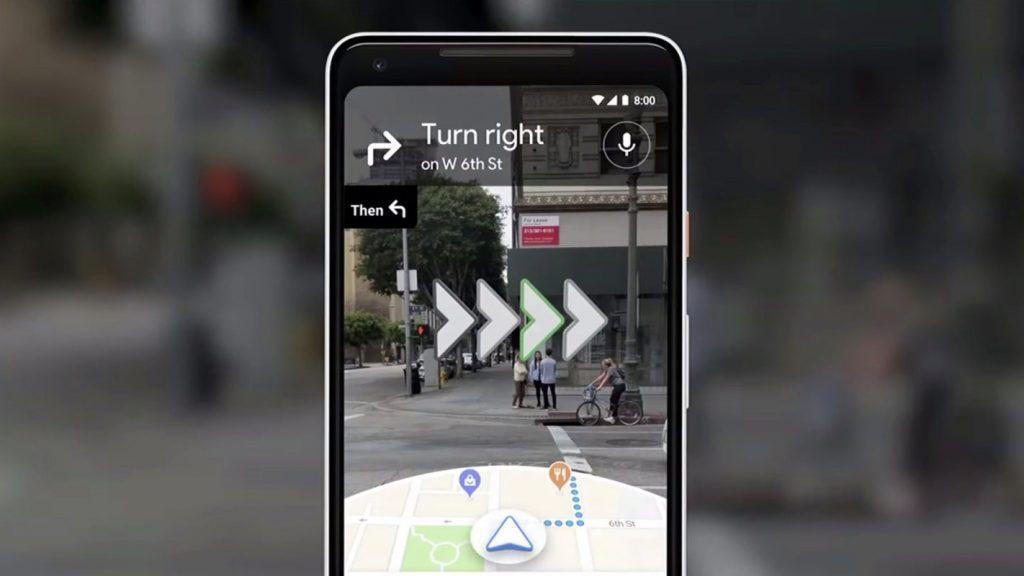 Google 地图推出了 AR 实景导航,它用起来怎么样?
