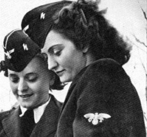 揭秘二战纳粹50万女兵最后的归宿