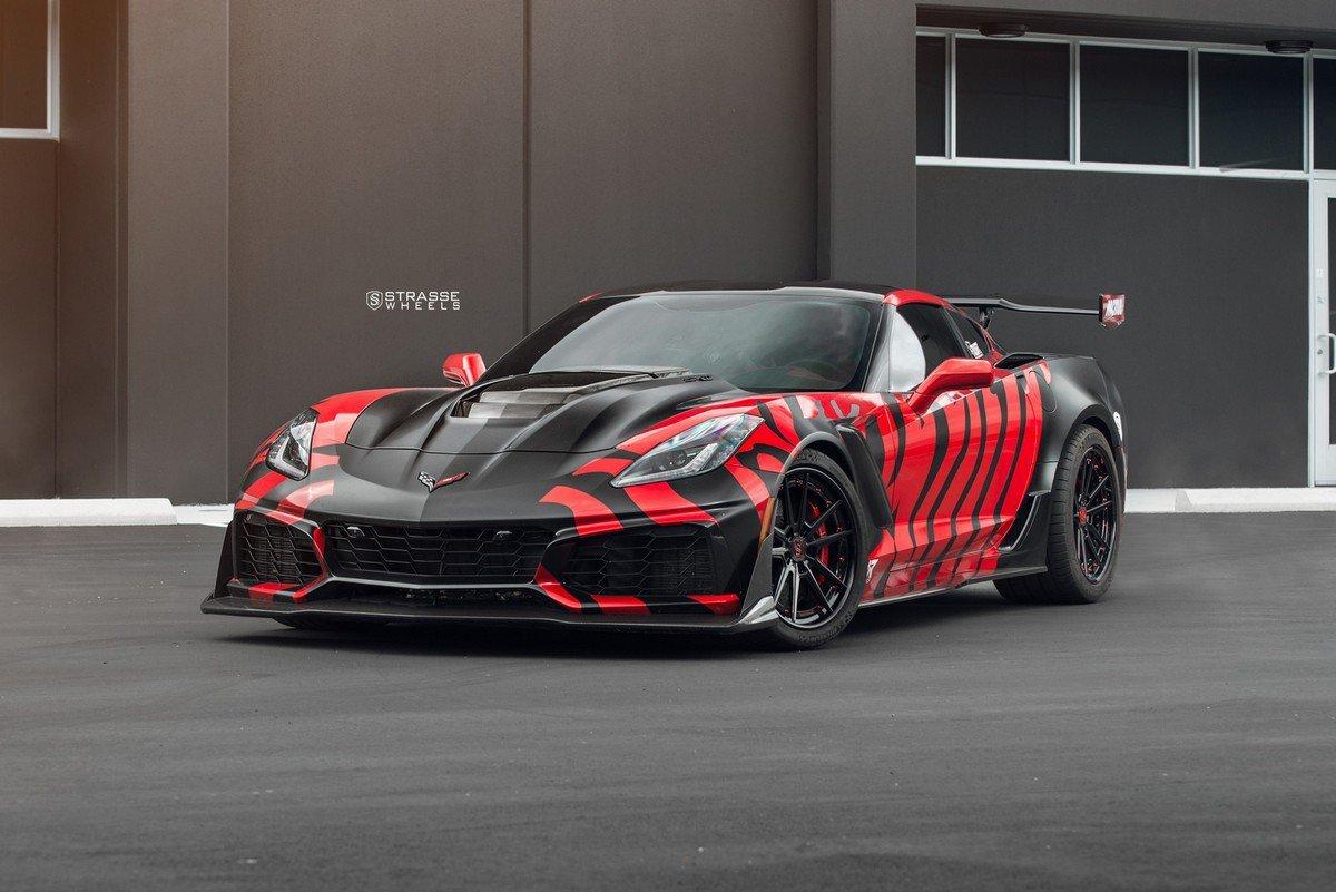 定制改装克尔维特Corvette ZR1 凶狠极端的套件
