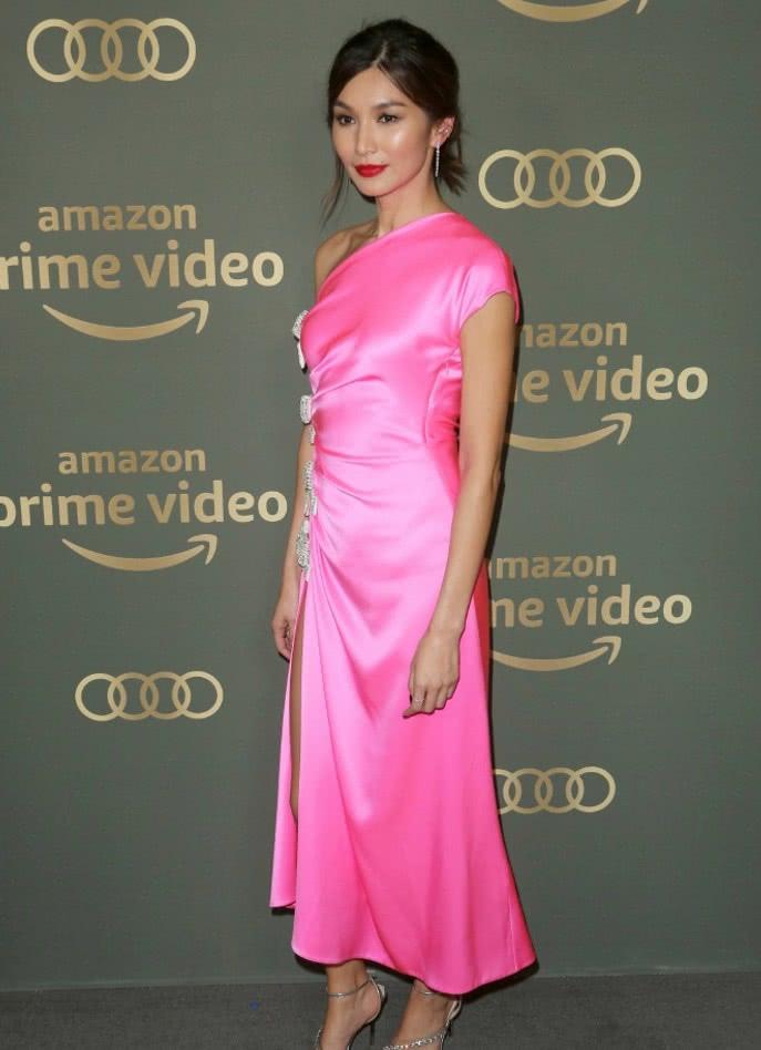 """《变形金刚5》造物主""""昆塔莎"""",一袭粉裙太美,看一眼就心动!"""