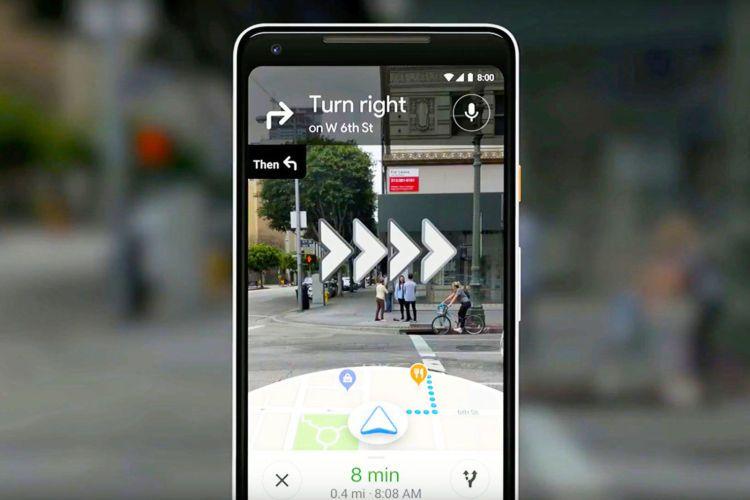 Google地图面向少数用户开放AR导航功能