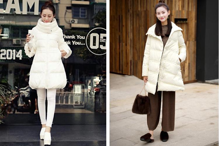 原創             冬季紙片妹羽絨服穿搭有妙招,擺脫平板身穿出時髦架式 形象穿搭 第14張