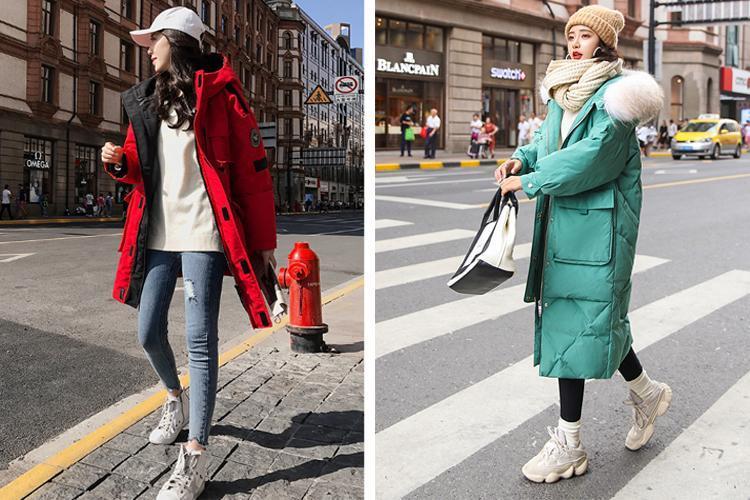 原創             冬季紙片妹羽絨服穿搭有妙招,擺脫平板身穿出時髦架式 形象穿搭 第10張