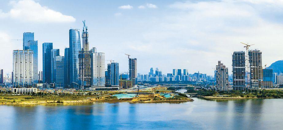 深圳市经济总量排名_深圳市经济发展的图片