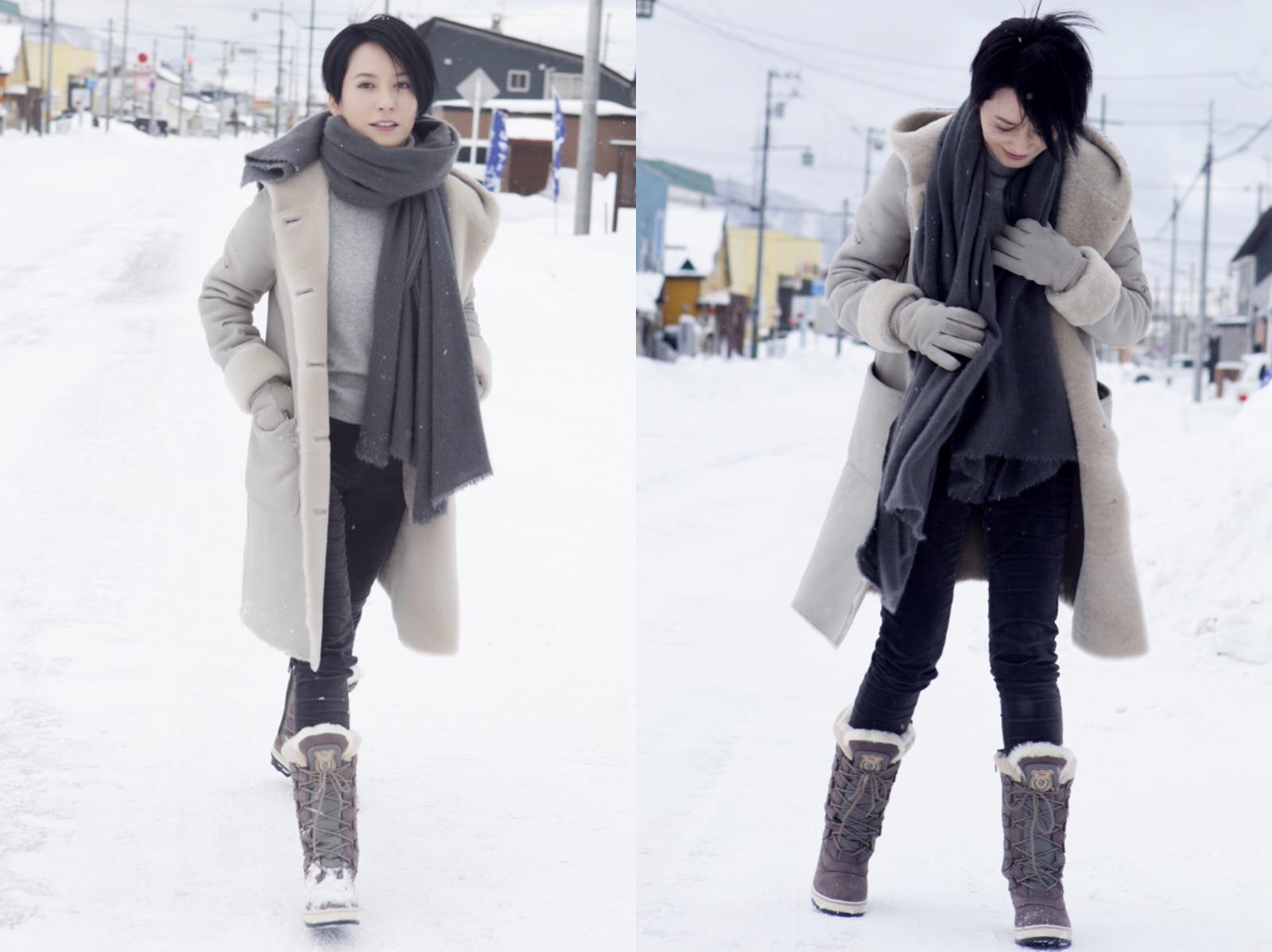 下雪天和雪地靴最配哦,穿好它你就是C位!(图13)