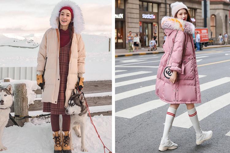 原創             冬季紙片妹羽絨服穿搭有妙招,擺脫平板身穿出時髦架式 形象穿搭 第9張