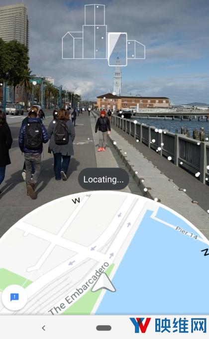 谷歌地图AR导航上手体验,助你快速明确方位和路线