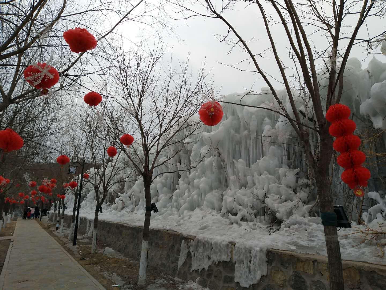 西部长青温泉谷图片